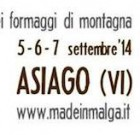 Asiago pronta per Made in malga