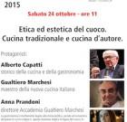 Etica ed estetica del cuoco. Alla Braidense di Milano, 24/10
